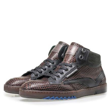 Floris van Bommel halbhoher Herren Sneaker