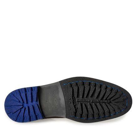 Floris van Bommel men's suede leather lace boot