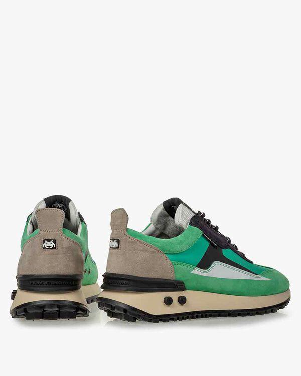 Sneaker Space Invaders grün