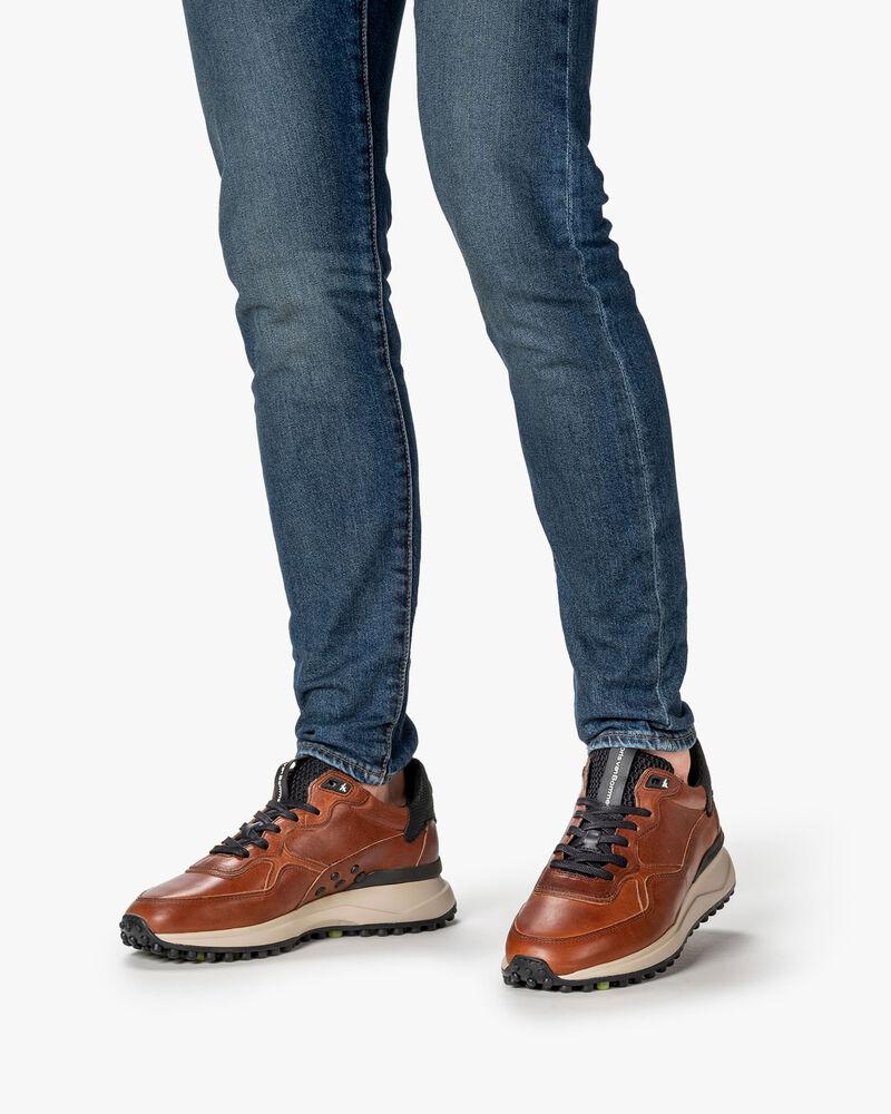 Noppi sneaker leather cognac