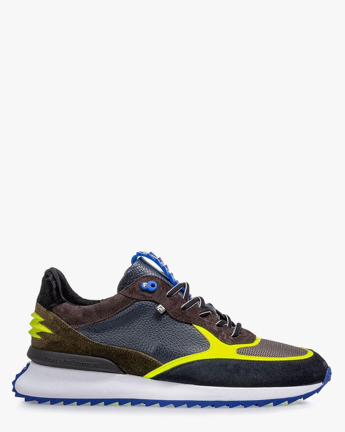 Sharki Sneaker blau/gelb