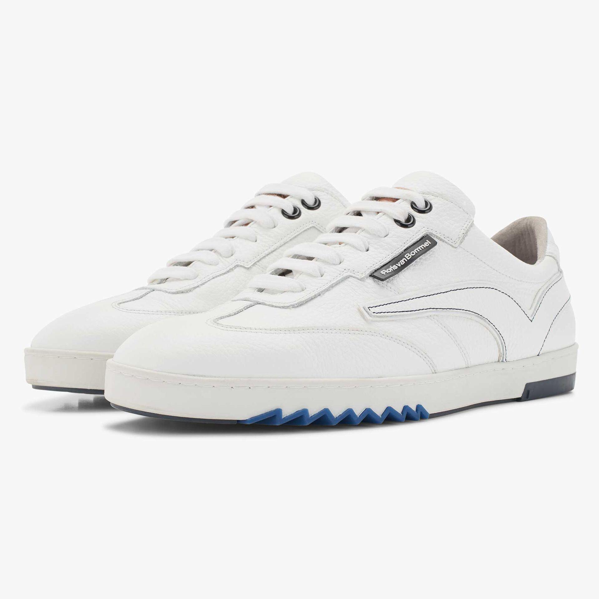 Weißer Leder Sneaker