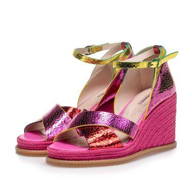 Wedge-heeled sandal