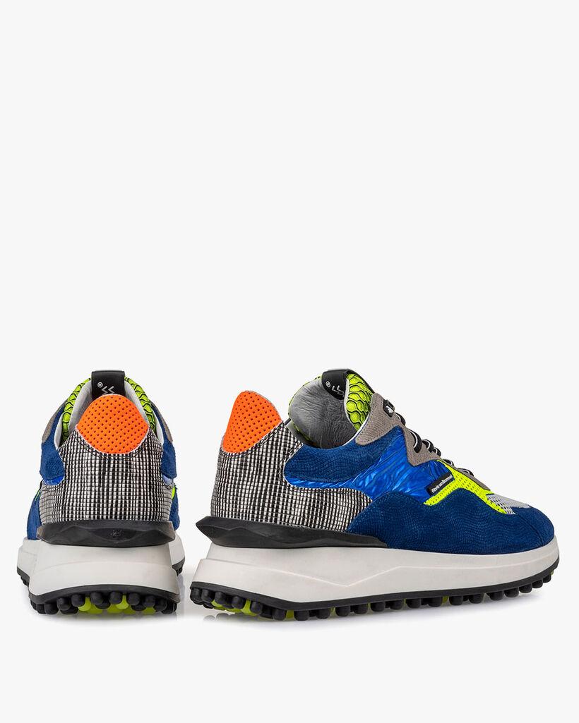 Noppi Sneaker Wildleder blau