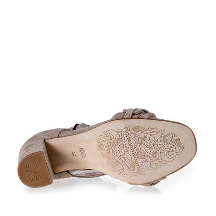 Sandale mit Schnalle