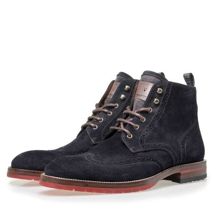 Floris van Bommel men's brogue lace boot