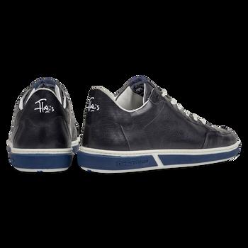 Sneaker calf leather dark blue