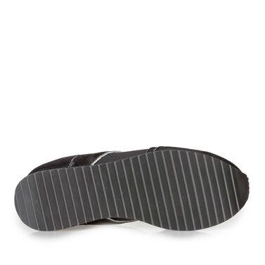Leder Sneaker mit Sportliche sole