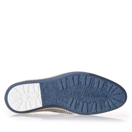 Schnürschuh aus geflochtenem Leder
