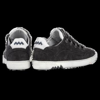 Hiking sneaker nubuck leather black