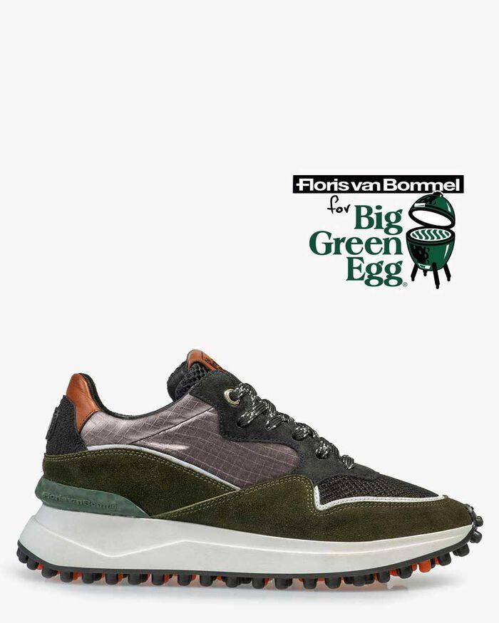 Noppi Big Green Egg Sneaker Wildleder
