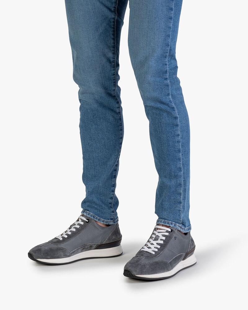 Sneaker textile dark grey