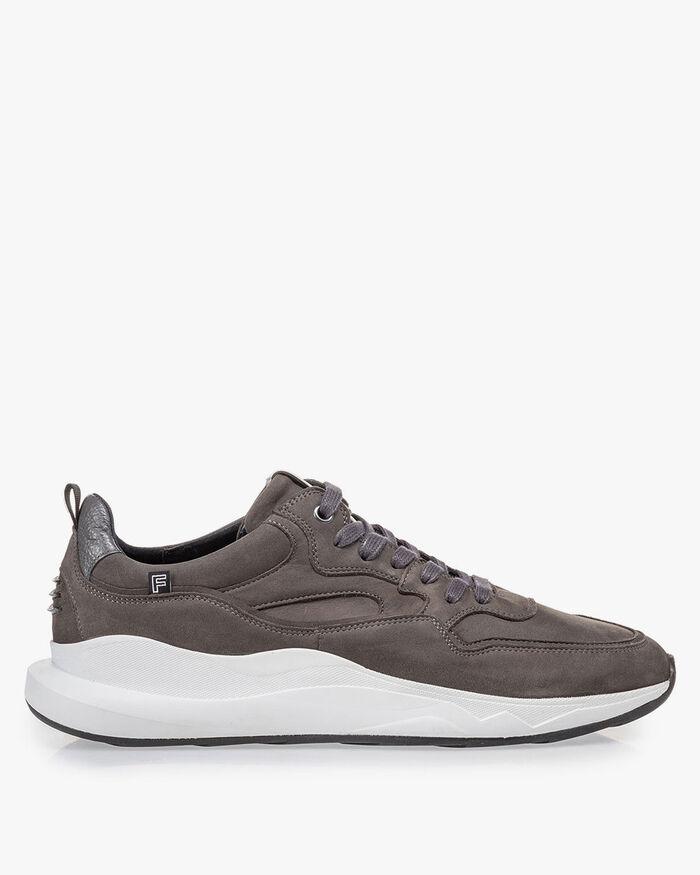 Bulki sneaker grey nubuck