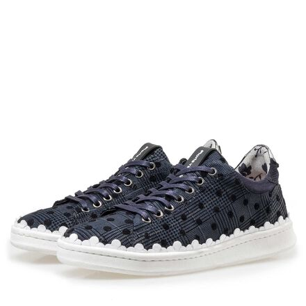 Floris van Bommel women's suede leather sneaker