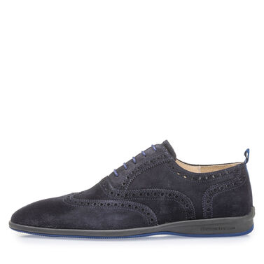 Leather lace shoe