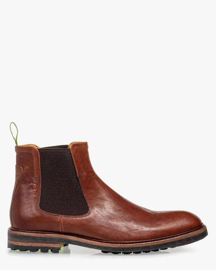 Chelsea boot leather cognac