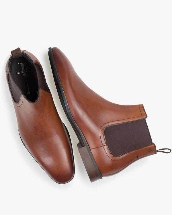 Chelsea Boot Kalbsleder cognac