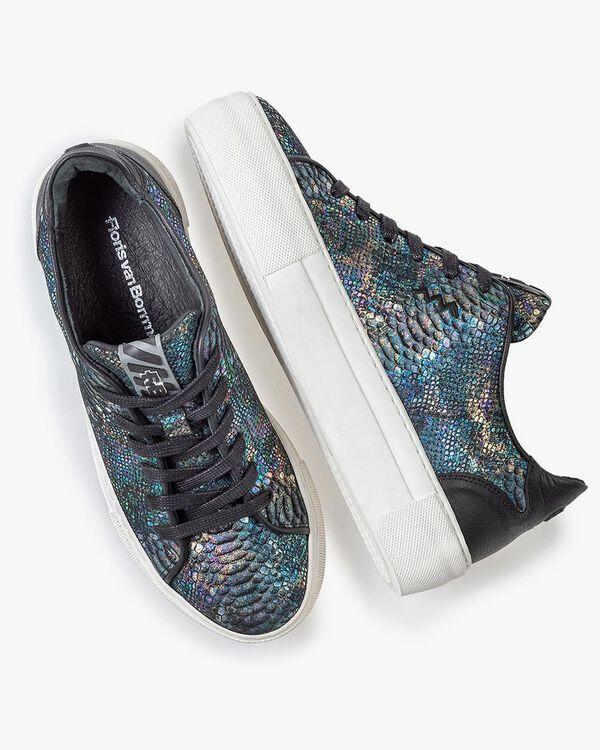 Sneaker Schlangenprint multi-color
