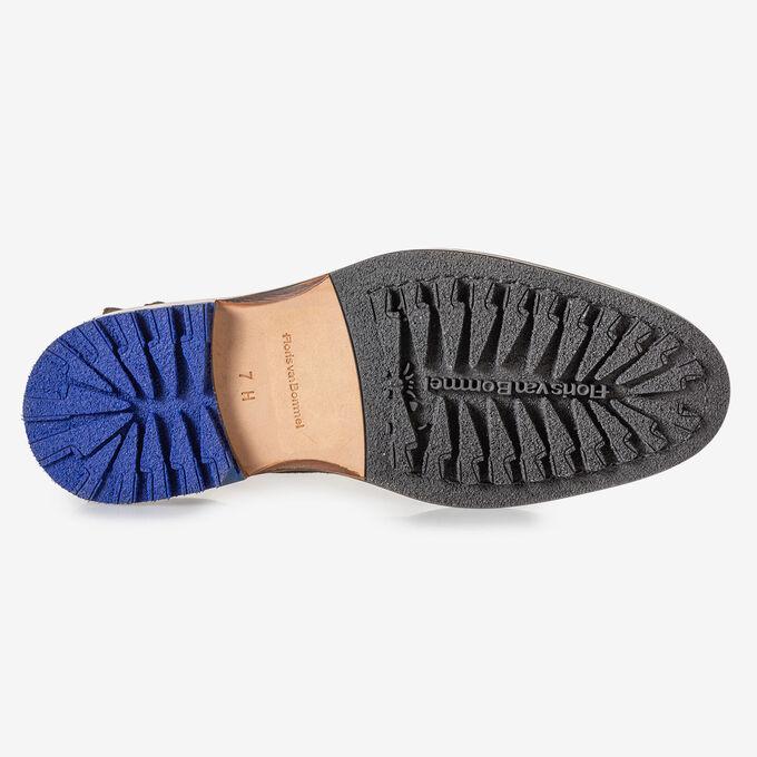 Chelsea Boot dunkelbraunes Wildleder