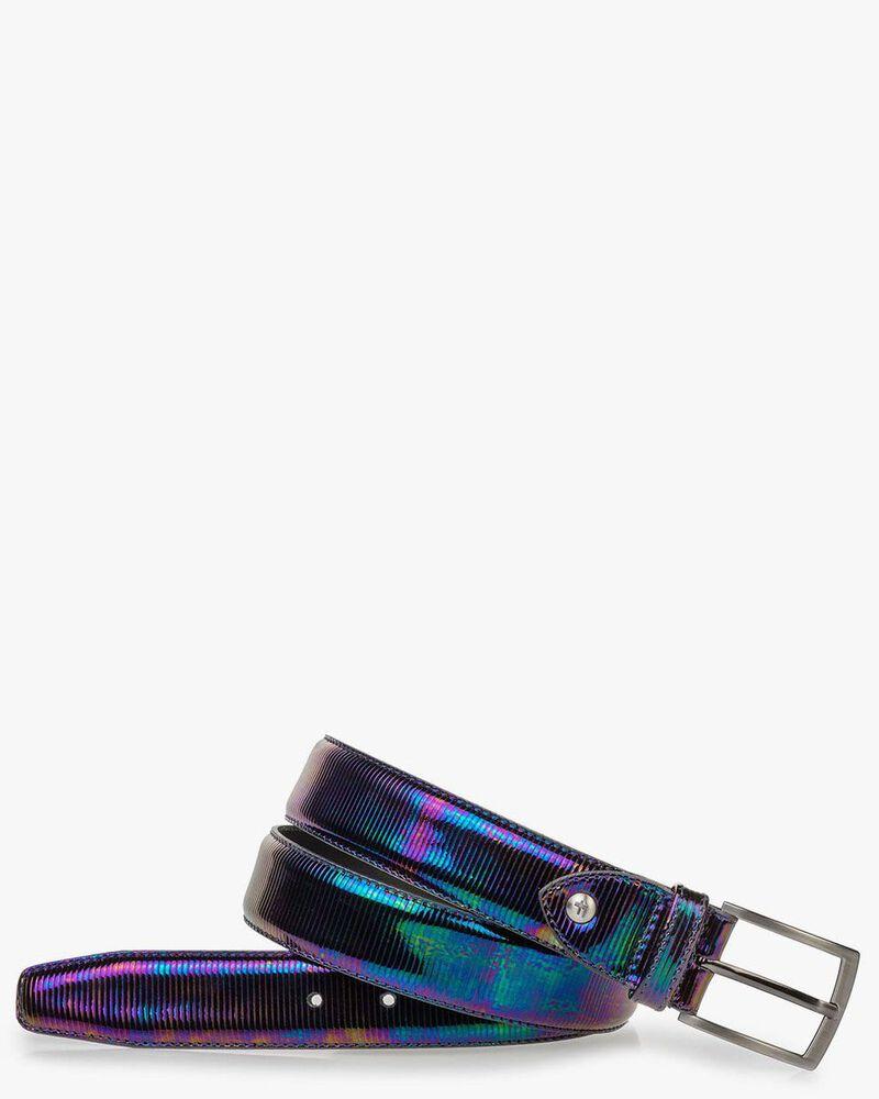 Gürtel Multicolor Lackleder