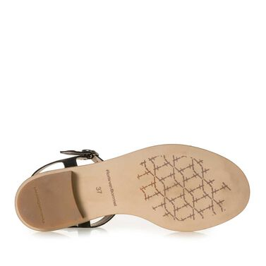 Nubuck leather sandal