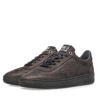 Sportlicher Leder-Sneaker