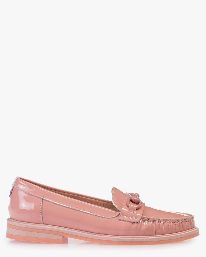Loafer Lackleder pink