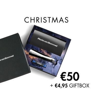 Floris van Bommel Geschenkkarte mit Weihnachtsmotiv