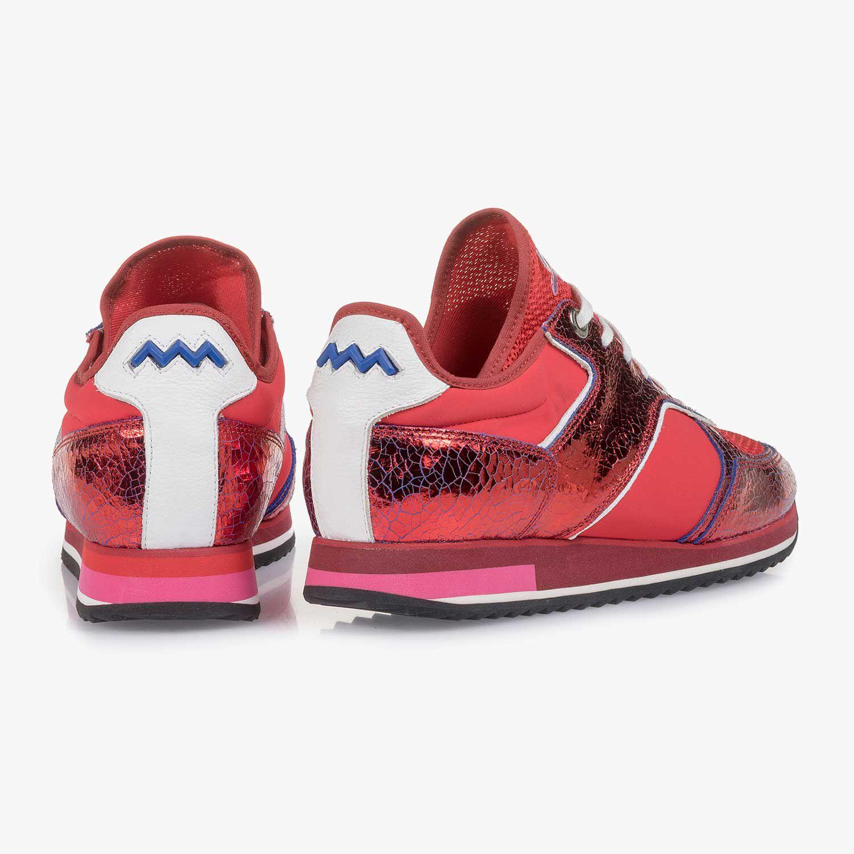Roter Metallic Damen Sneaker 8526102 | Floris van Bommel®