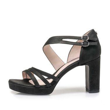 Leder-Sandalette