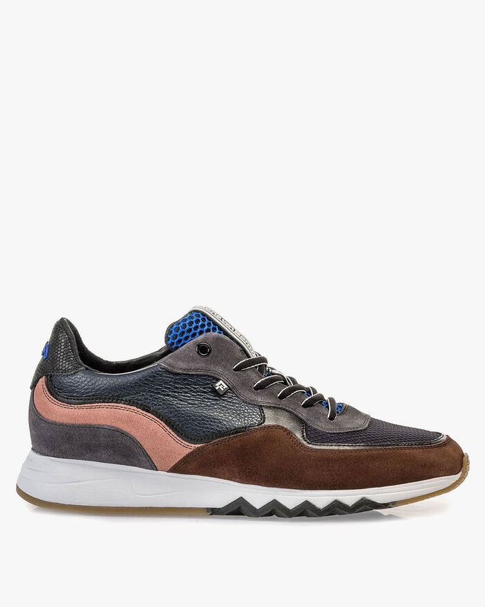 Nineti-Sneaker braun