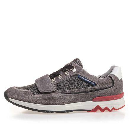 Premium Wildleder Sneaker mit Klettverschluß