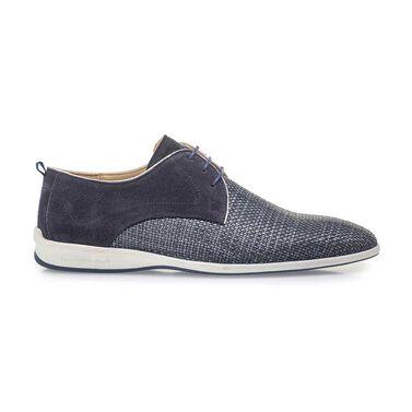 Lässige Schnürschuh aus Leder