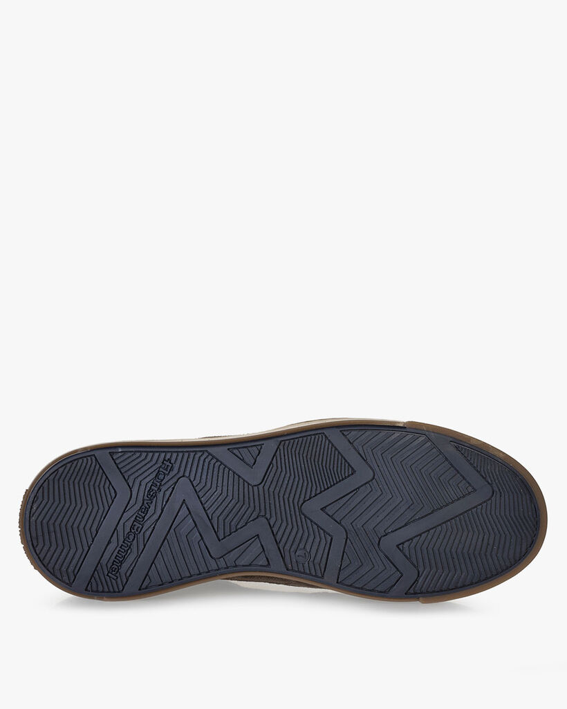 Sneaker Wildleder taupe