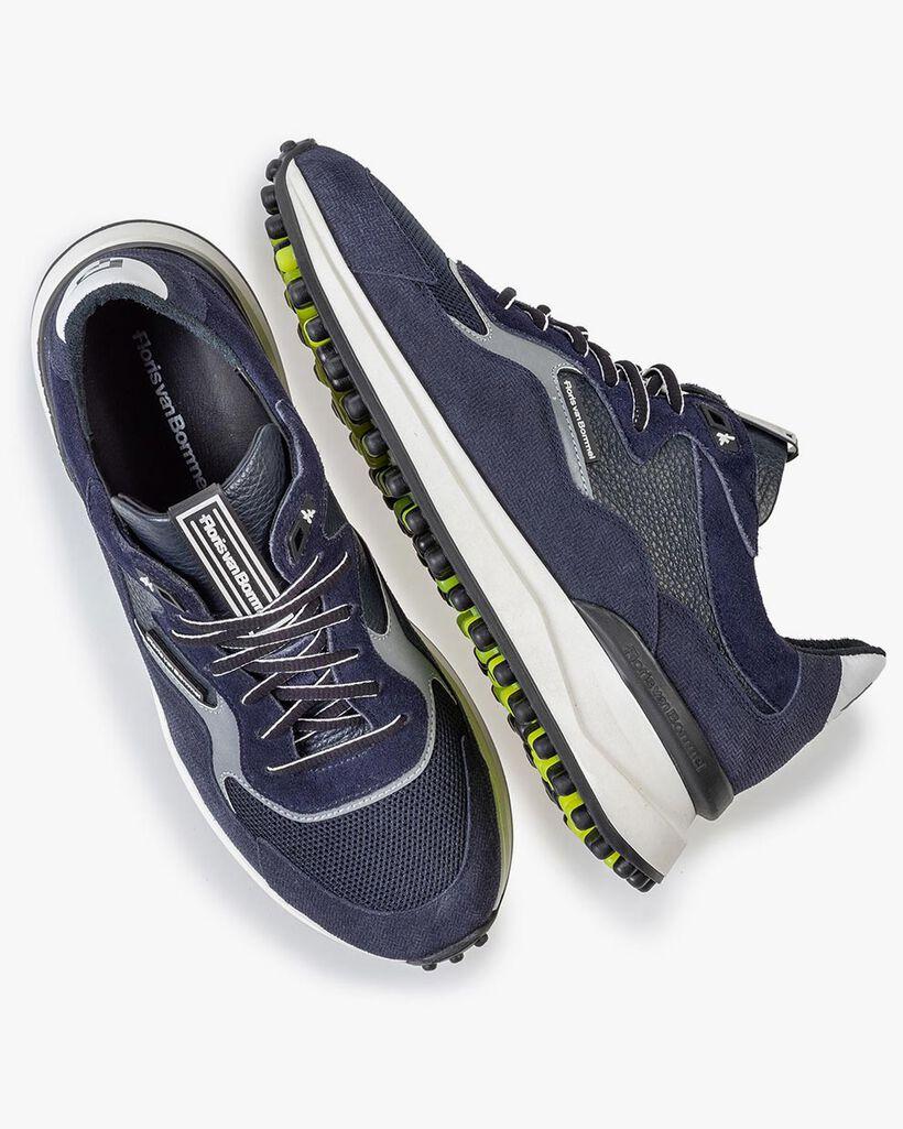 Noppi Sneaker dunkelblau mit Print