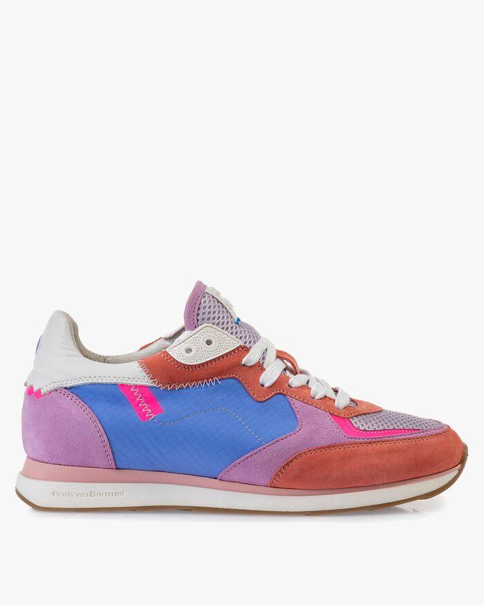 Sneaker Nubukleder multi-color