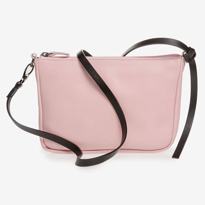 Light pink nappa leather bag