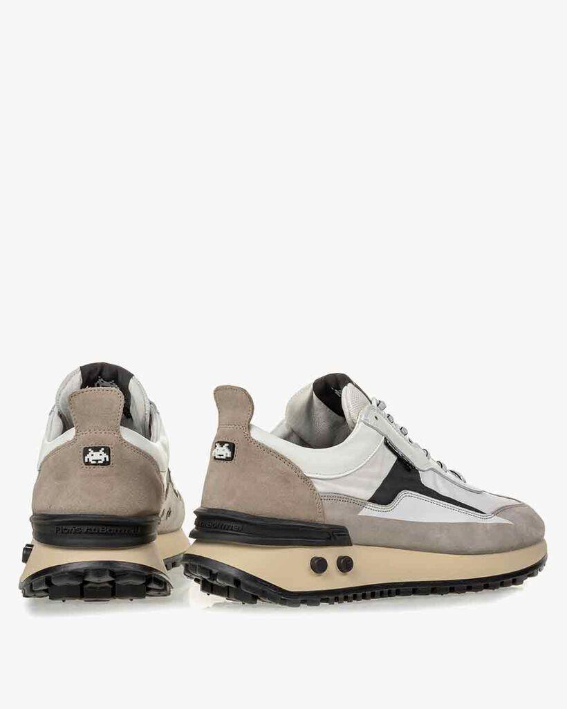 Sneaker Space Invaders weiß