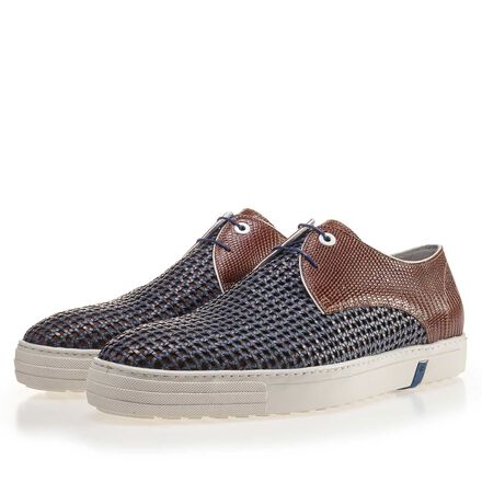 Premium Kombi-Leder Sneaker