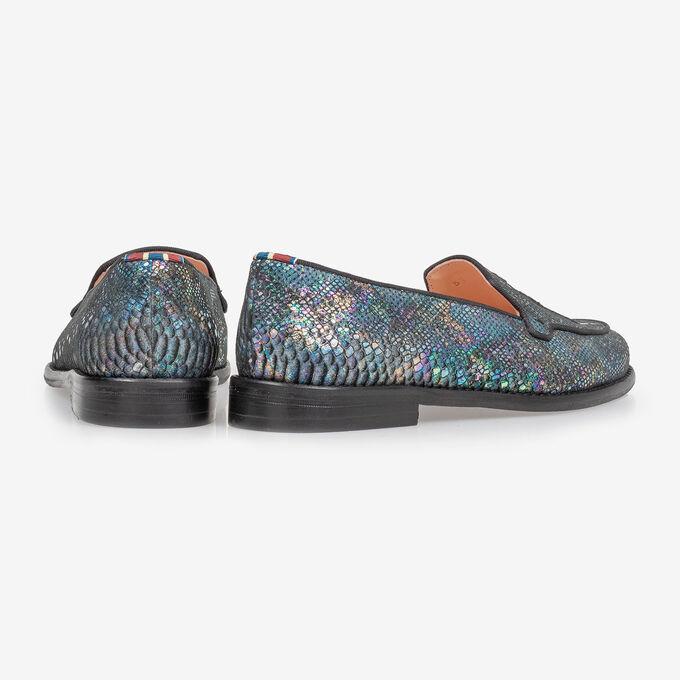 Loafer multi-color Schlangenprint