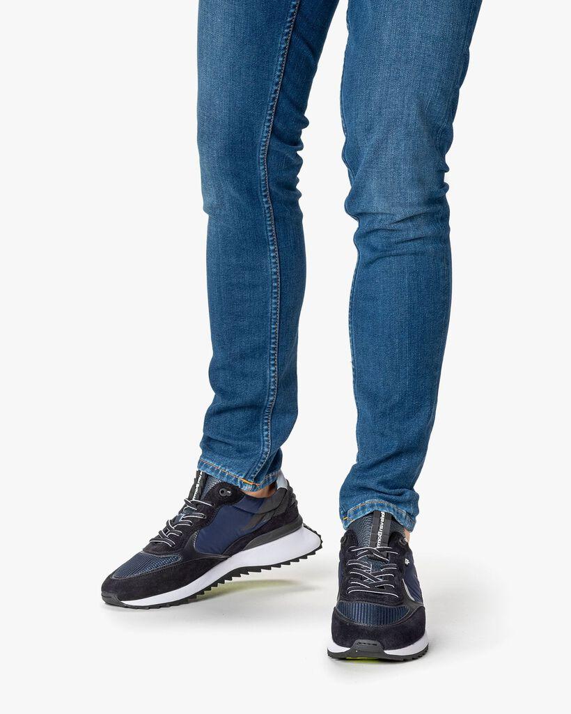 Sharki Sneaker Wildleder dunkelblau