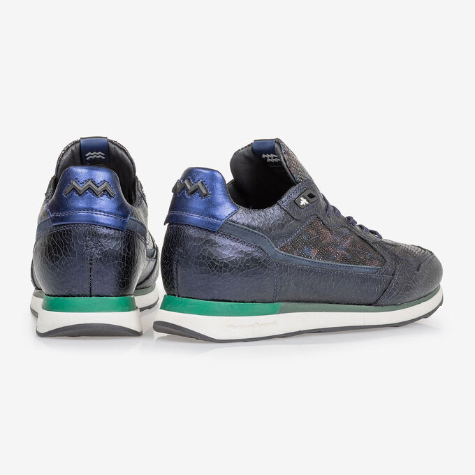 Sneaker dark blue leather