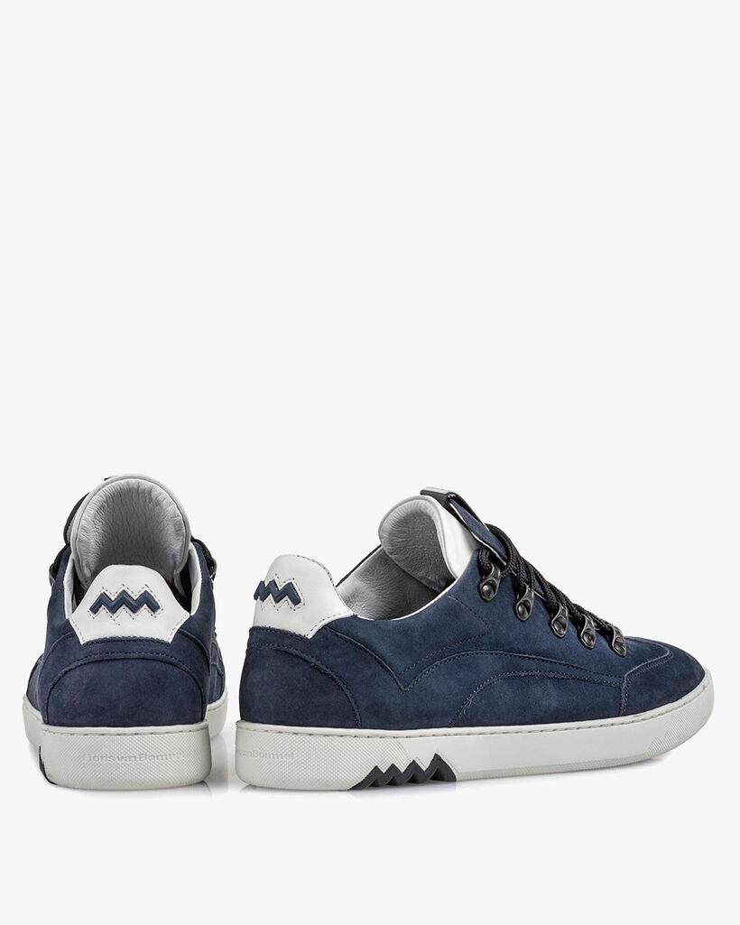 Hiking-Sneaker Nubukleder blau