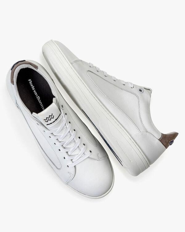 Kalbsleder-Sneaker weiß