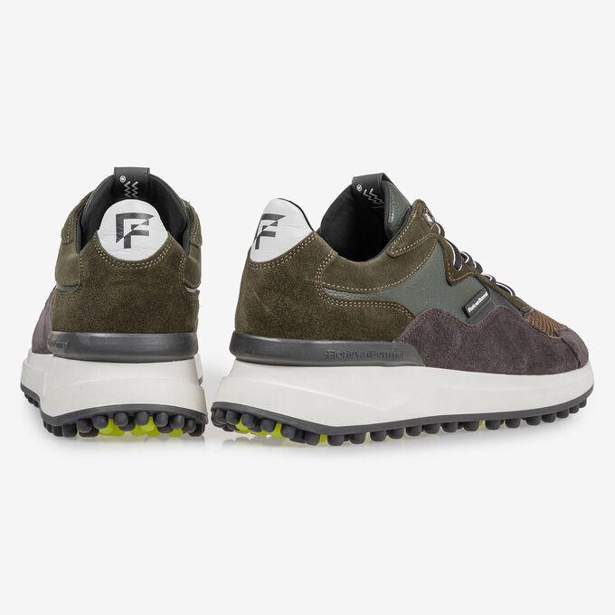 Noppi Sneaker dunkelgrün