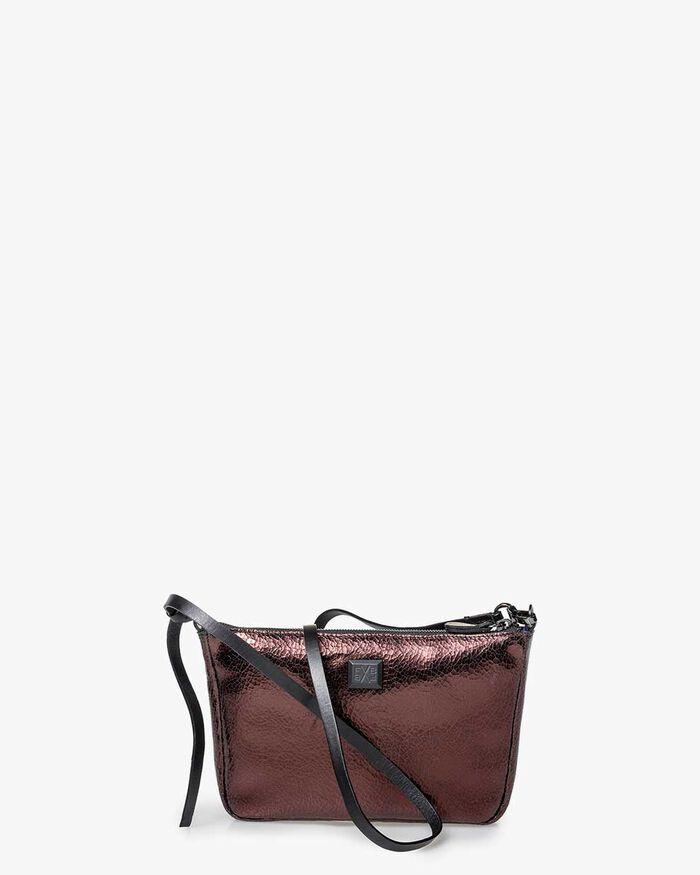 Crossbody-Tasche Leder braun