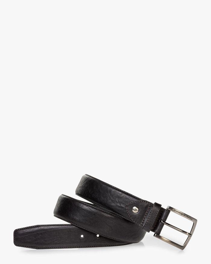 Gürtel Leder schwarz
