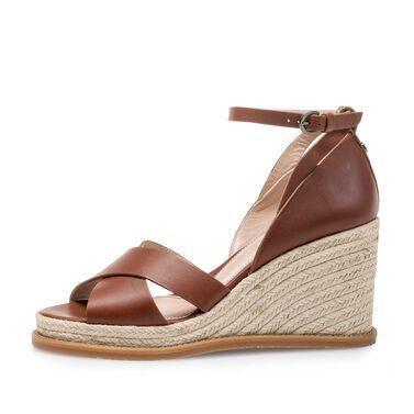 Keilabsatz-Sandale
