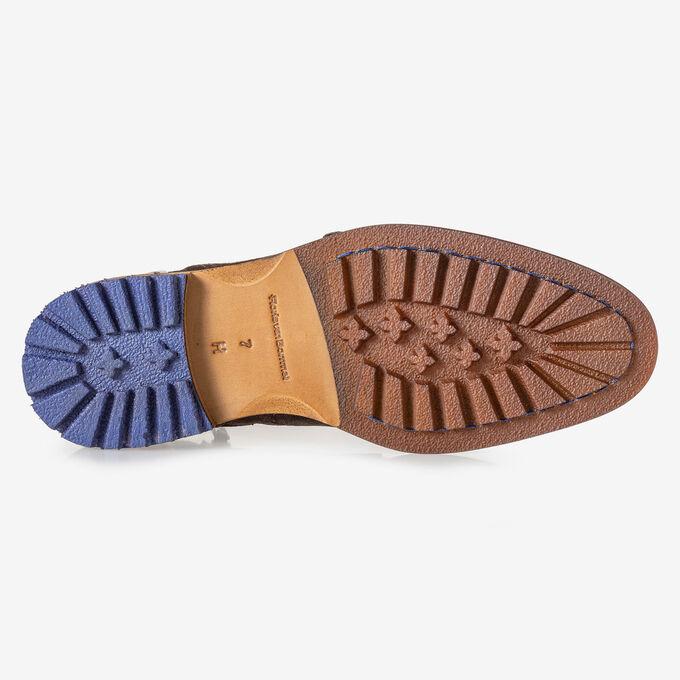 Stiefel mit Schnalle braun