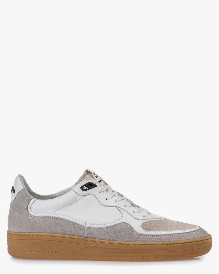 Sneaker Wildleder weiß